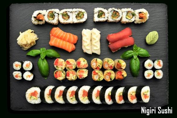 นิกิริซูชิ (Nigiri Sushi) ต้นกำเนิดของซูชิ