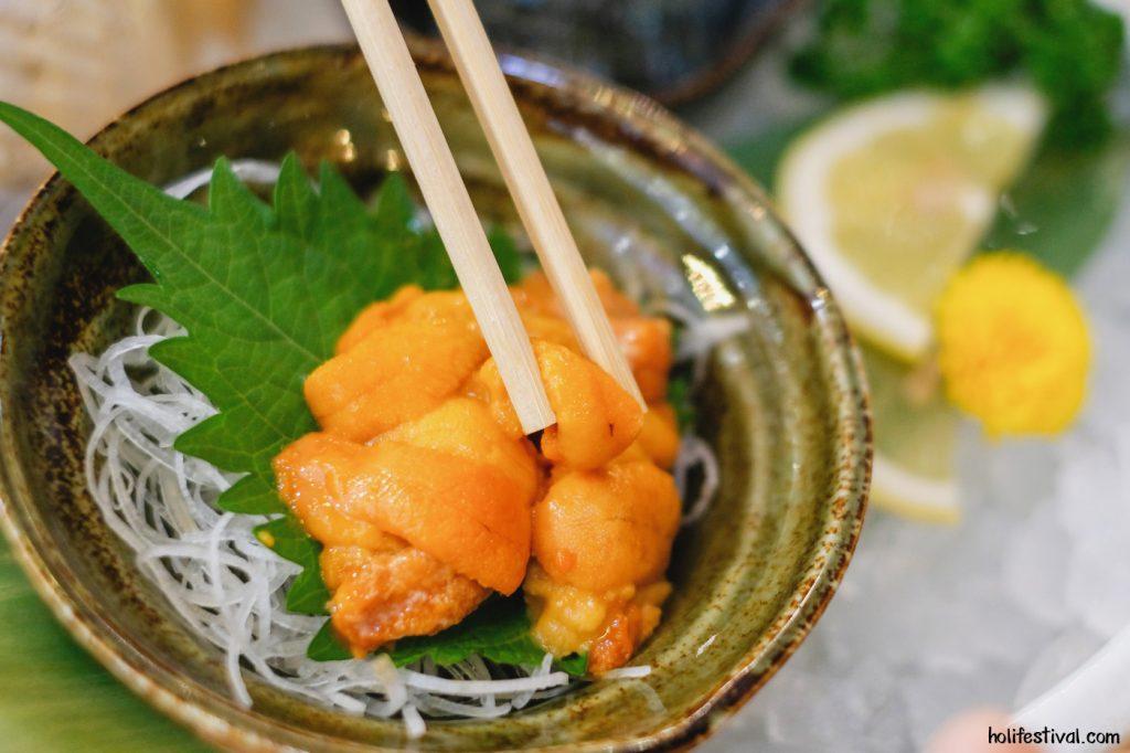 review zero sushi premium japanese restaurant 36 1024x682 - Uni ที่ควรรู้