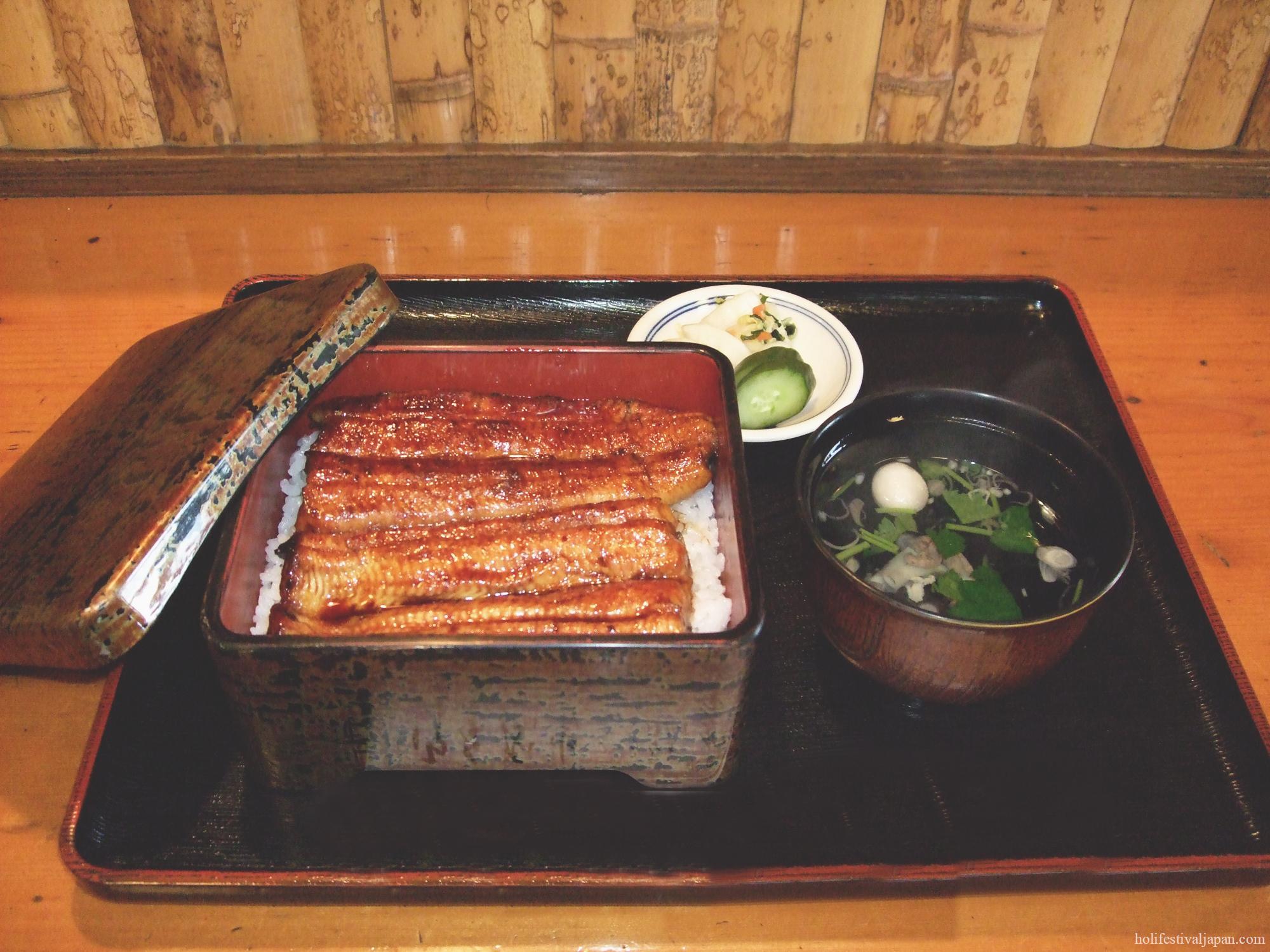ปลาไหลญี่ปุ่นหรือ อูนางิ