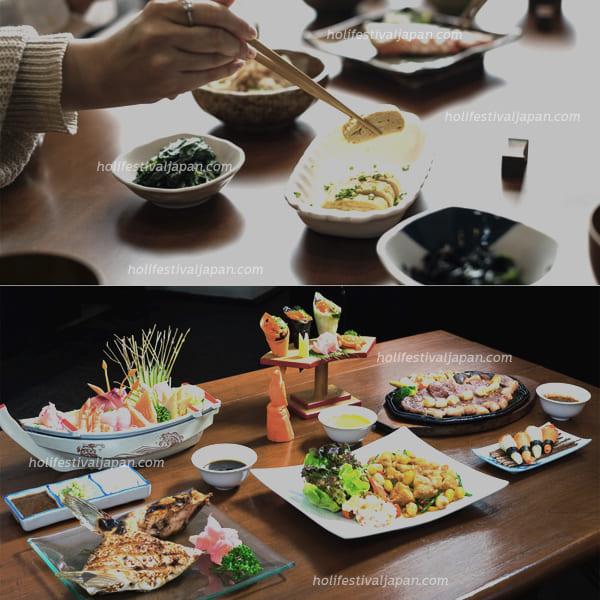 6 - วัฒนธรรมการทานอาหารสด ชาวญี่ปุ่นนั้นนิยมทานอาหารที่มีความดิบจนเป็นนิสัย