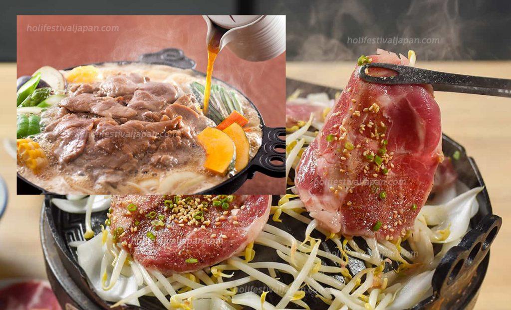 เจงกิสข่าน ฮอกไกโด5 1024x621 - เจงกิสข่าน อาหารพื้นเมืองขึ้นชื่อที่ห้ามพลาดเมื่อคุณได้ไปเยือนฮอกไกโด ญี่ปุ่น