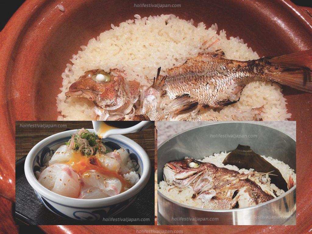 ไทเมชิ3 1024x769 - ไทเมชิ เมนูอาหารที่ได้รับความนิยม เป็นเมนูพื้นเมืองของเมืองมัตสึยามะ