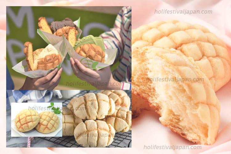 melon pan1 - เมล่อนปัง เมนูขนมปังญี่ปุ่นยอดฮิตที่ได้รับความนิยม และมีชื่อเสียงเป็นอย่างมาก